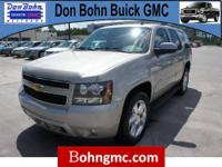 Don Bohn Buick GMC presents this 2009 CHEVROLET TAHOE