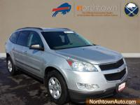 Climb inside the 2009 Chevrolet Traverse! It just