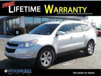 Options:  2009 Chevrolet Traverse Lt|Silver|Awd.