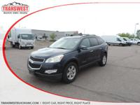 Options:  2009 Chevrolet Traverse Lt|Blue|Tan