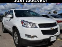 This Traverse features: Bose Sound System, 3rd Row