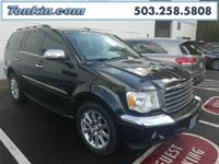 2009 Chrysler Aspen Limited Brilliant Black Crystal