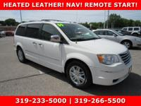 White 2009 Chrysler Town & Country Limited FWD 6-Speed