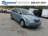 New Price! Clean CARFAX. Clearwater Blue Pearlcoat 2009