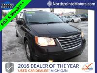 Options:  2009 Chrysler Town & Country Touring|Black|We