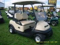 This is a 2009 Club Car Precedent, 48 volt with