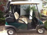 2009 Club Car Precedent Golf Cart with 2013 batteries,