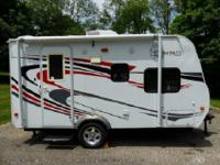 Compass Travel Trailer by Fleetwood, Rear Bath