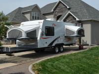 2009 Coyote Rock Climber CRC 220 toy hauler by KZ RV.