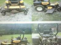 For Sale: 2009 Cub Cadet Hydrostatic Zero-turn