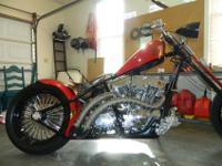 Lovely one of a kind West Coast Chopper. This bike is