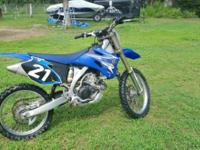 2009 Dirt bike YAMAHA 250 excellent conditions One