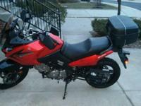 Hey,. I have a 2009 DL650 in Orange (Non ABS) in
