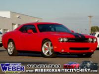 LOW MILES - 26,600! SRT8 trim. Heated Leather Seats,