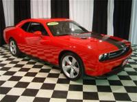 This 2009 Dodge Challenger 2dr SRT-8 Coupe features a