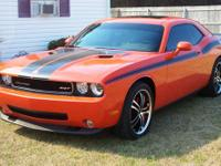2009 Dodge Challenger SRT8 (Hemi-Orange) with only 12k+