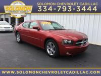 2009 Dodge Charger R/T in Red vehicle highlights