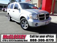 2009 Dodge Durango! Travel down to Durango and back in