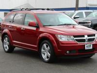 Red 2009 Dodge Journey R/T AWD 6-Speed Automatic 3.5L