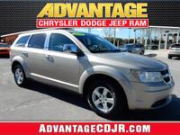 This Silver 2009 Dodge Journey has LOW MILES!! LOW