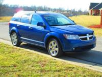 Very sharp one owner, non-smoker 2009 Dodge Journey RT