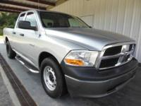 Stout! Ready for work! This dependable 2009 Dodge Ram