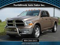 Low miles and loaded with remote start, Powerful Hemi