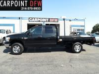 4X4 FLAT BED 2009 DODGE RAM 2500 SLT 4X4 DUALLY CREW