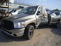 2009 DODGE 3500 6.7L DIESEL AUTO 2WD 4DOOR DUALLY W/65K
