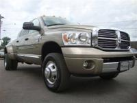 FACTORY CERTIFIED!! MEGA CAB LARAMIE!! This 2009 Dodge