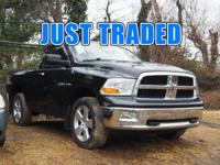 LOW LOW MILES! 5.7 LITER HEMI V8! 5 SPEED AUTOMATIC, 4