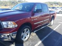 New Price! This 2009 Dodge Ram 1500 in Inferno Red