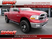Ready for anything! This Ram 1500 has less than 98k