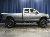 Clean Carfax 4x4 Diesel Lifted Truck with Premium