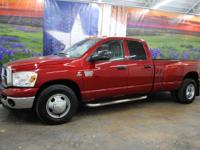 *Turn heads in this inferno red 2009 Dodge Ram 3500 SLT