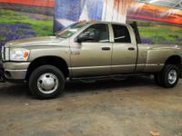 *Rule the roads in this massive tan 2009 Dodge Ram 3500