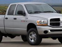 This Dodge Ram 3500 boasts a Diesel I6 6.7L/408 engine