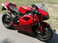 2009 Ducati 1198 Superbike. This is an adult ridden