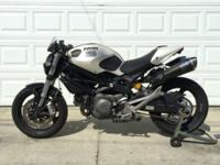 2009 Ducati Monster 696 7,950 miles clean title fully