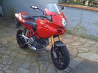2009 Ducati Multistrada 1100 S, 1100 ccm, registered in