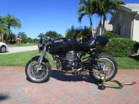 For Sale is my precious Ducati Sport Classic Cafe