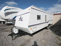 The 2009 Dutchmen 27BH is a bunkhouse travel trailer