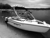 This wake boat is in very good condition and puts out a