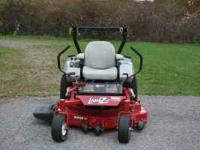 I am currently selling a 2009 Exmark Lazer Z Commercial
