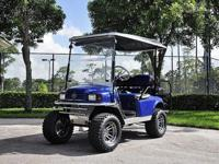2009 EZgo Golf Cart with Trailer!! 2009 EZgo 36V Custom