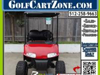 "2009 E-Z-GO RXV Electric Golf Cart ""Flame Red"".  No"