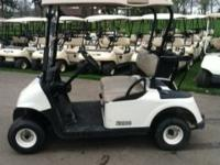 THIS IS A GREAT LIKE NEW GAS GOLF CART READY TO GO FEEL