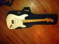I have a 2009 fender Stratocaster white with a maple