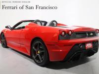 Exterior Color : Rosso Corsa Interior Color :