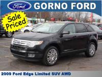 2009 FORD EDGE LIMITED ALL WHEEL DRIVE! CARFAX 1-OWNER